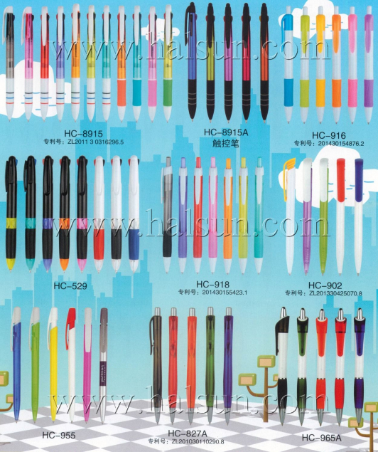 3 color pens, 3 in one pens,Stylus Pens_Promotional Ballpoint Pens_2014_09_21_15_17_34