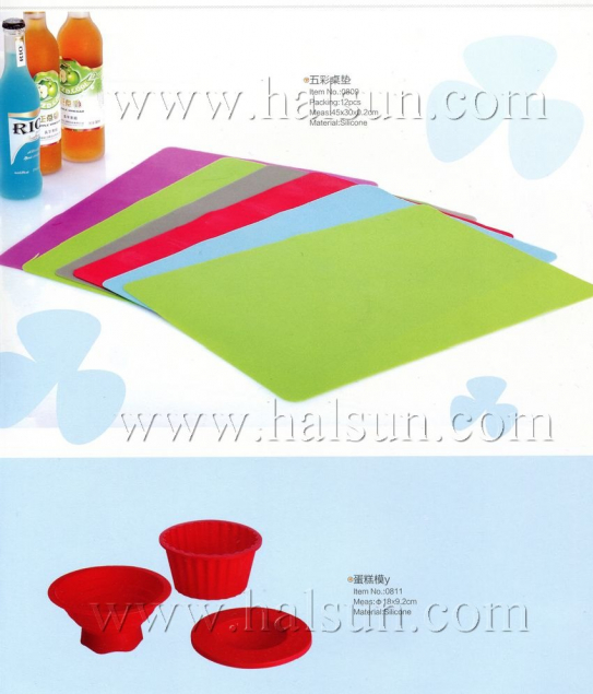 Silicon Table mat,cake module